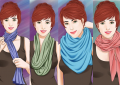 5 Ways to style a scarf