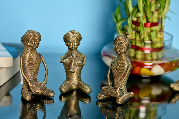 The Brass Items To Complete The Indian Home Decoration