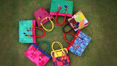 ethnic hand purses