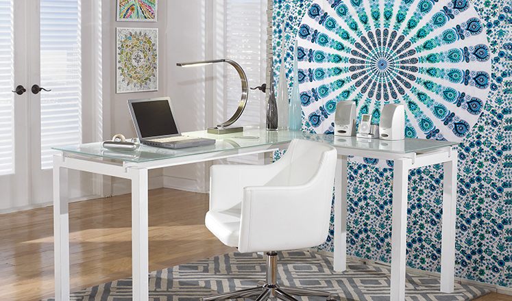 Charmant Bohemian Home Office Decor
