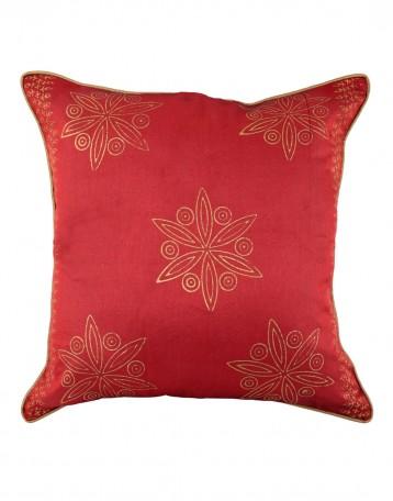 unique pillow cases polyester indian designer red cushion cover Unique Pillow Designs