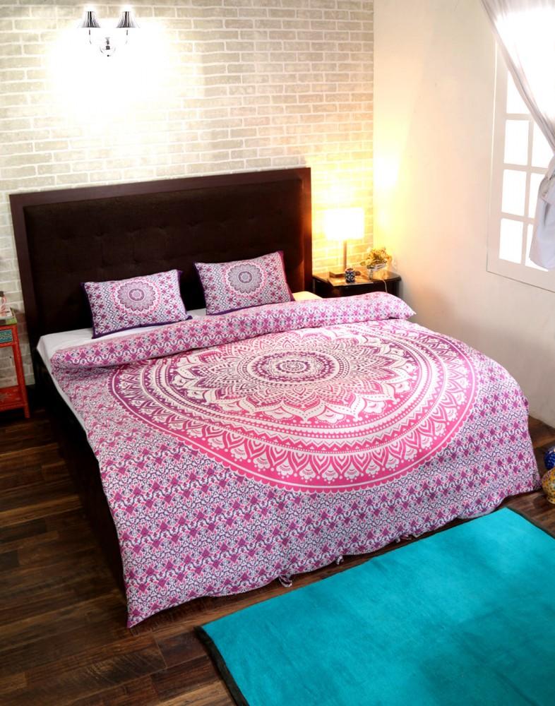 Indian Mandala Duvet Cover Blanket Quilt Bedspread Bedding Comforter
