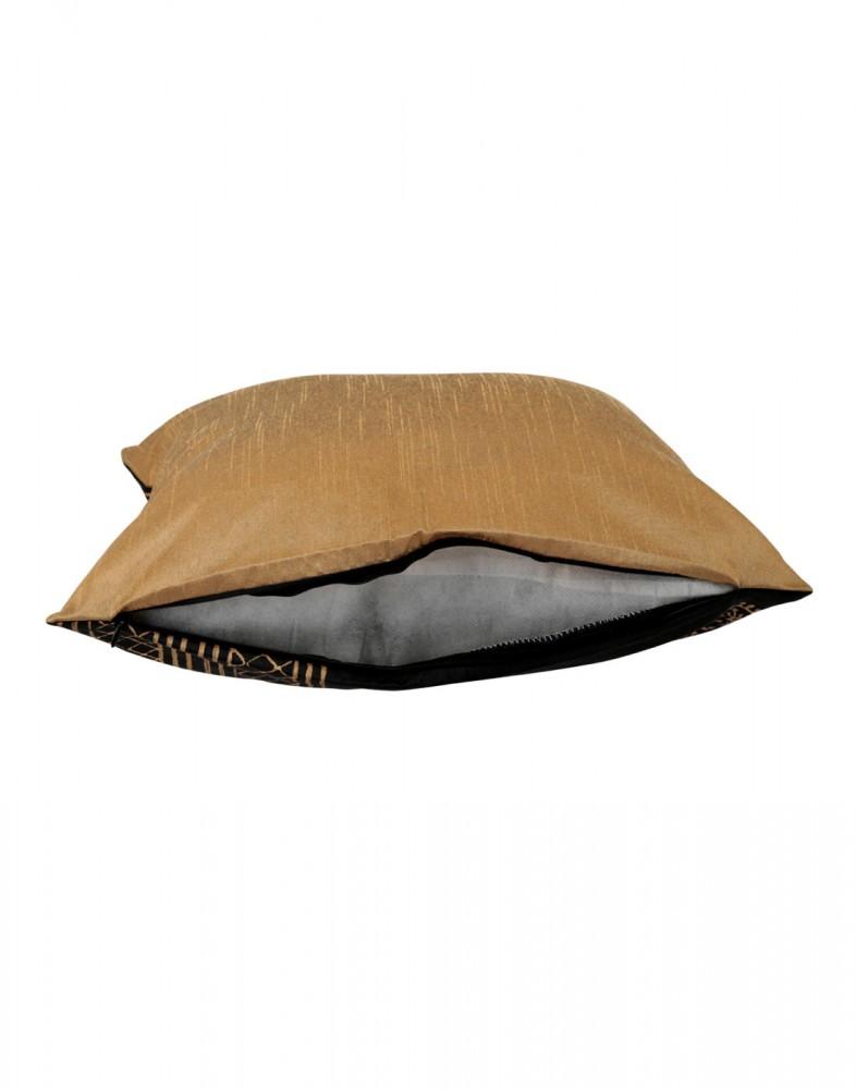 Elegant Pillow Shams Polyester Rajasthani Designs Black Throw Pillows Standard Size Single ...