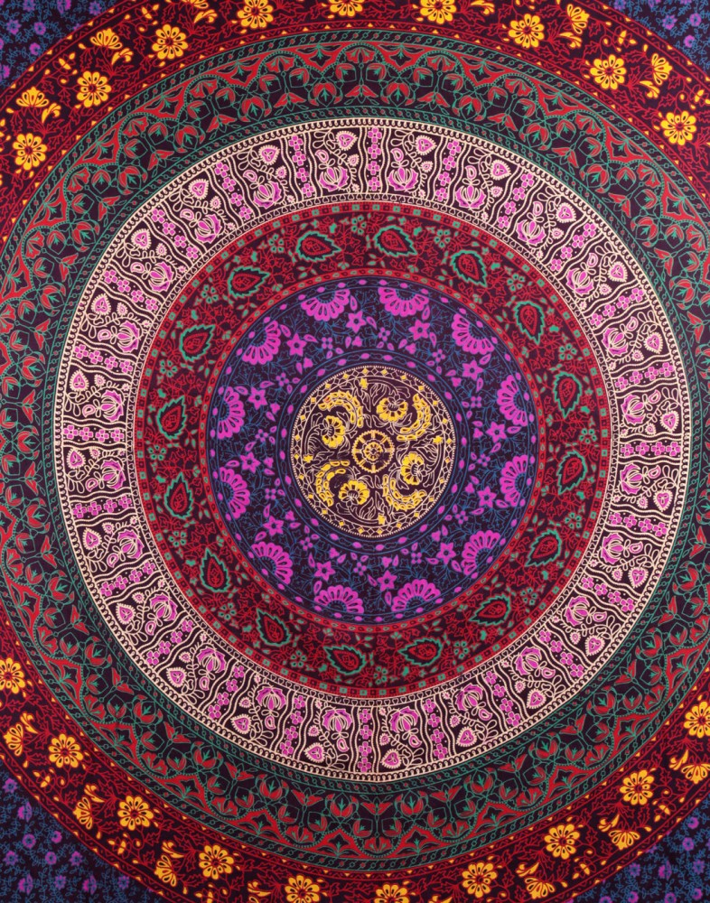 ... Large Hippie Tapestry Hippy Mandala Bohemian Tapestries Indian Dorm  Decor Psychedelic Tapestry Wall Hanging Ethnic Decorative ... Part 73