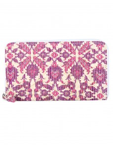 Trendy Cotton Beige Clutch Bag Floral Printed Ladies By Rajrang