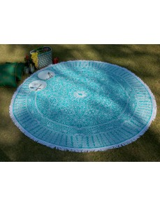 Mandala Indian Round Tapestry Table Cloth Bedsheet Beach Throw Yoga Mat