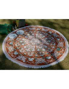 Tapestry mandala round roundie beach throw Table cloth cover beach towel sheet yoga mat