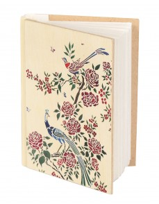 Cream Hand Made Paper Floral Digital Printed Diary