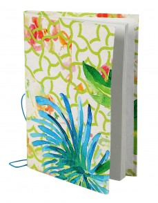 Vintage Diary Abstract White Printed Card Board Paper Diary