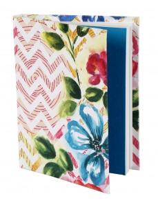 Trendy Diary Chevron White Printed Card Board Paper Diary