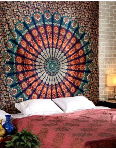 Bohemian Tapestries,Decorative Wall Hanging, Mandala Tapestry