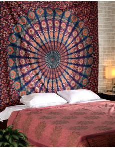 Wall Hanging, Indian Mandala Tapestry Throw Bedspread, Dorm Tapestry , Decorative Wall Hanging, Picnic Beach Sheet