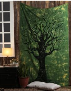 Hippie Mandala Tapestry Indian Handmade Designer Wall Decal, Decorative Wall Hanging, Picnic Beach Sheet
