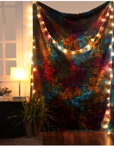 Twin Blue Tie Dye Bohemian Tapestry Elephant Star Mandala Tapestry Tapestry Wall Hanging Boho Tapestry Hippie Hippy Tapestry Beach Coverlet Curtain