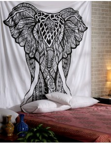 Christmas Gift Elephant Tapestries Psychedelic Wall Hanging Elephant Tapestry Hippie Tapestry Wall Tapestries Bohemian Tapestries Indian Tapestry Wall Hanging