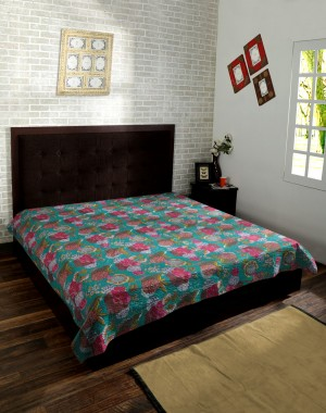 Designer Kantha Tropical Quilts By Kanthaa