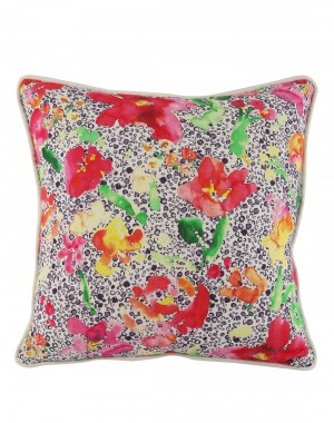 Decorative accessories  cushion covers Cotton Casement Living Room Accessories Home Art throw pillows Red pillow covers Floral Digital Printed