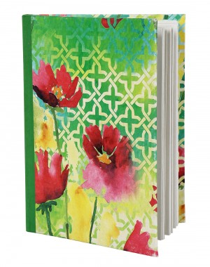 Exclusive Diary Abstract Green Printed Card Board Paper Diary