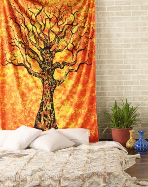 Tree of Life Tapestry , Hippie Tapestries , Bohemian Boho Coverlet , Dorm Tapestry Sheet ,Wall Tapestries, Tapestry Wall Hanging,