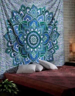 Christmas Gift BIG Mandala Hippie Tapestry, Hippie Wall Hanging Tapestries, Bohemian Tapestries, Queen Mandala Home Decor