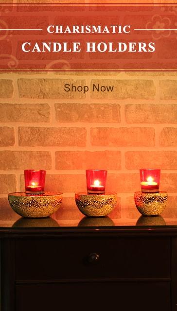 Candle Holder Rajrang